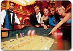 Parejas en el casino