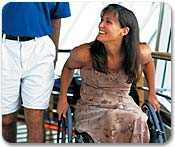 Cruceros accesibles para discapacitados
